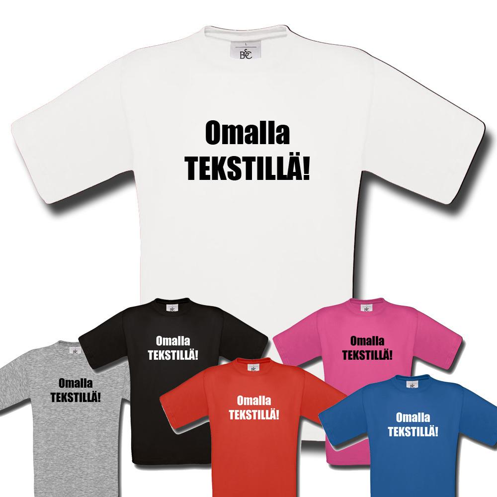 Lasten T-Paita Omalla Tekstillä 3b94b741f7