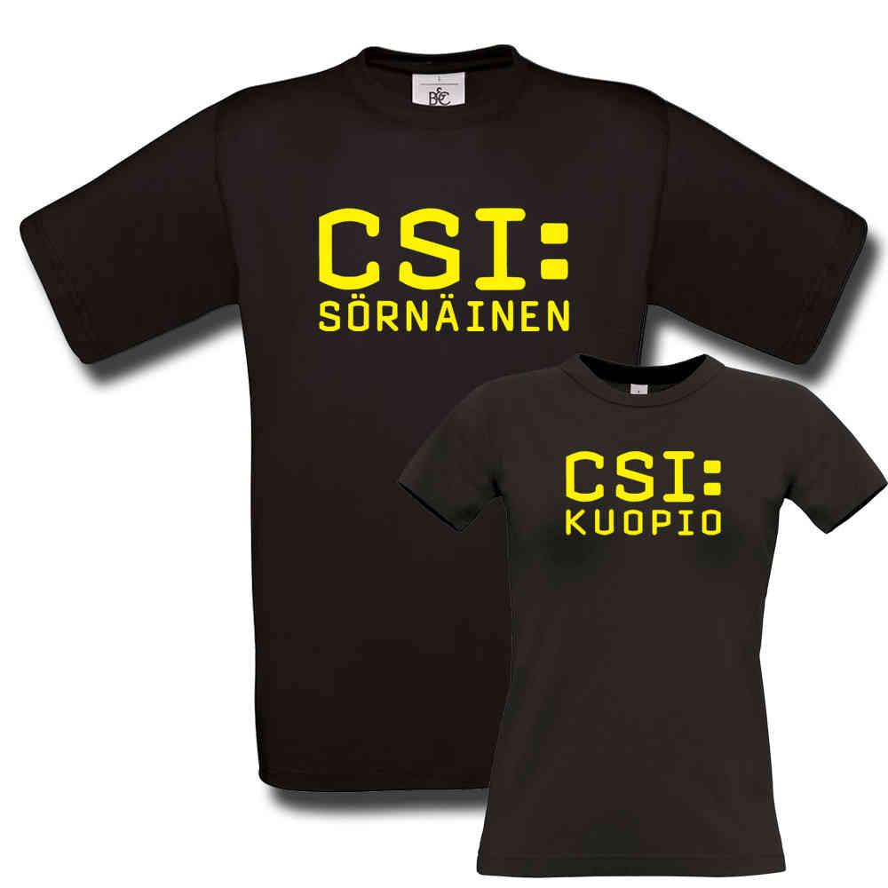 CSI T-paita Omalla Kaupungilla