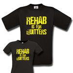 Rehab is for quitters T-Paita