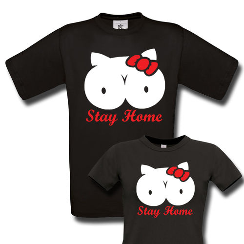 Stay Home Titty T-Paita
